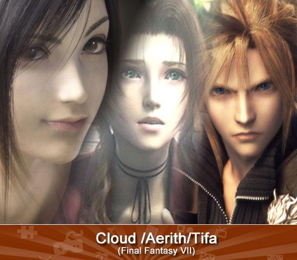Cloud /Aerith / Tifa (Final Fantasy VII)