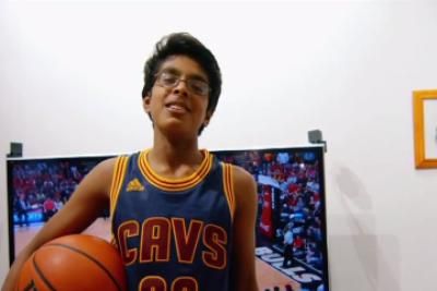 This LeBron James superfan is taking his talents to the National Spelling Bee