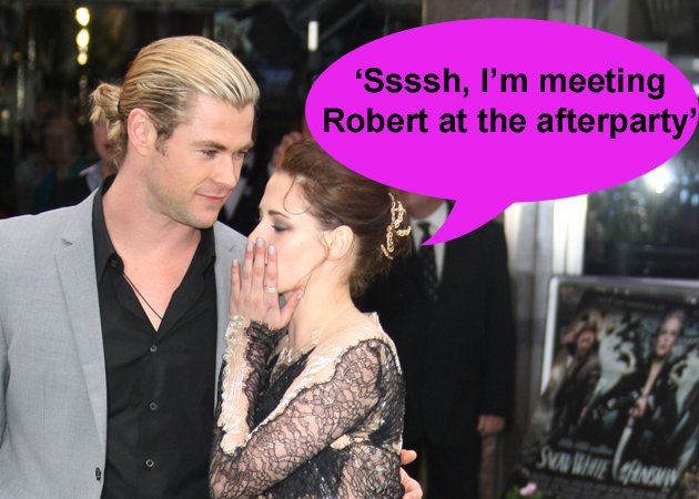 kristen stewart swath premiere after party robert pattinson