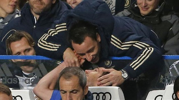 John Terry, Frank Lampard (Reuters)