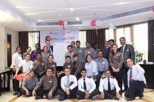 Manama Hotel Celebrates Team & Brand Unity With RIsolution Day