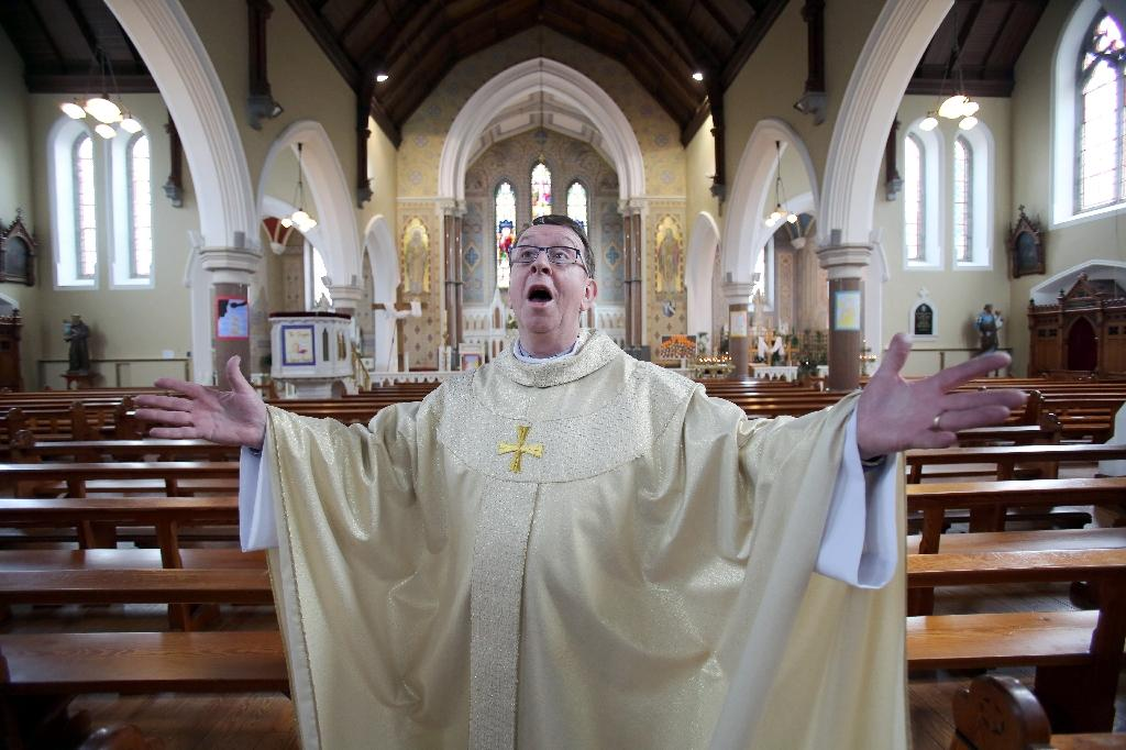 Ireland's 'Singing Priest' becomes global sensation