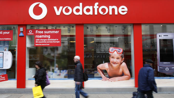 Vodafone confirms late-stage talks with Verizon