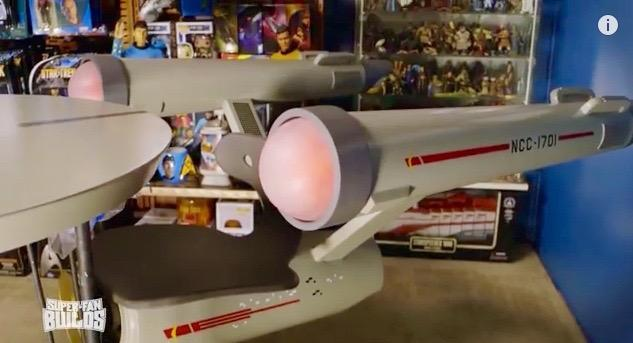 This 'Star Trek' Enterprise home office would make Scotty jealous