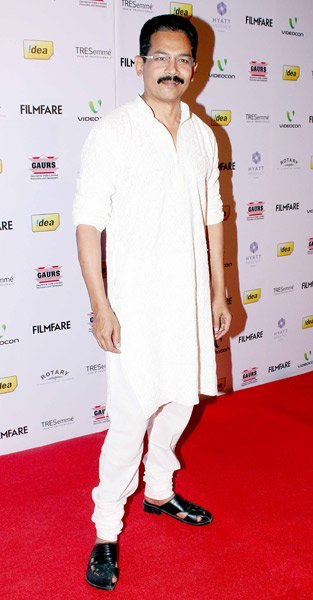 Spotted at the Filmfare nomination bash