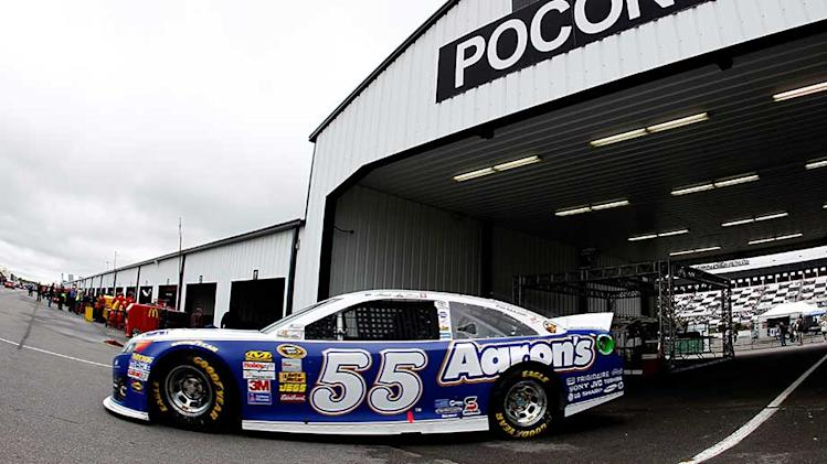 Watch GarageCam live from Pocono, 11 a.m. ET
