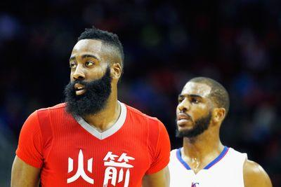 NBA schedule and results: Rockets outlast Clippers while Hawks top Rondo-less Mavericks