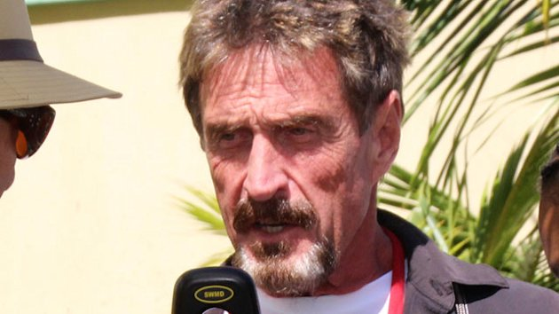 McAfee Tells ABC News He Is Innocent (ABC News)