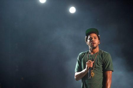J. Cole performs at the Made in America festival in Philadelphia
