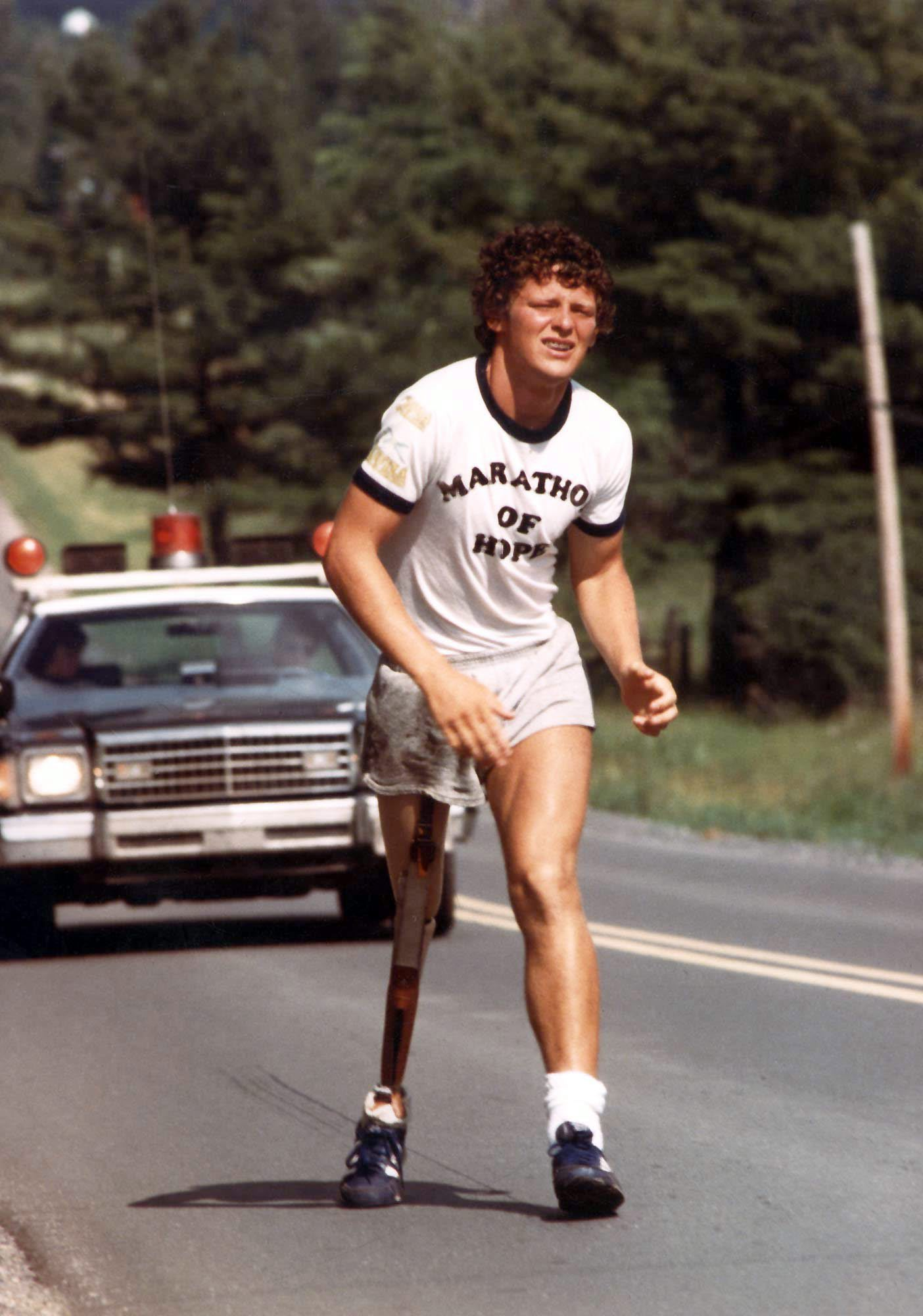 a biography of canadian famous athlete terry fox Terrance stanley terry fox cc od (july 28, 1958 – june 28, 1981) was a canadian athlete, humanitarian, and cancer research activist in 1980, with one leg having been amputated due to cancer, he embarked on an east to west cross-canada run to raise money and awareness for cancer research.