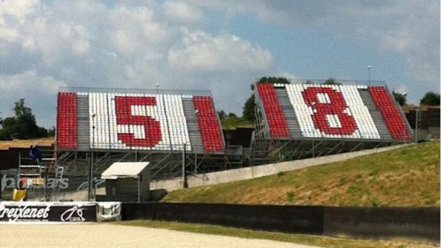MotoGP, Mugello: Marco Simoncelli&#39;s tribute by Loris Capirossi