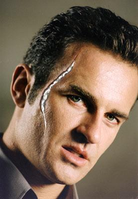 Julian McMahon as Dr. Victor Von Doom in 20th Century Fox's Fantastic Four