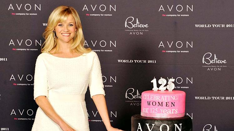 Witherspoon Reese AVON Tour