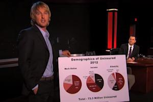 Watch Owen Wilson's Totally Spontaneous Kimmel Health Care PSA (Video)
