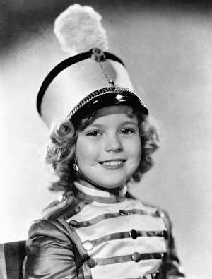 FILE - In this 1936 file photo, actress Shirley Temple …