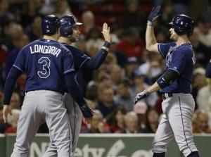 Price strikes out 13 in Rays' 5-2 win at Boston
