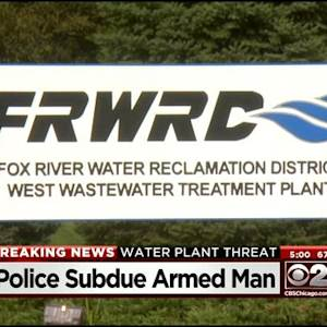 Gunman Arrested At Elgin Water Treatment Plant