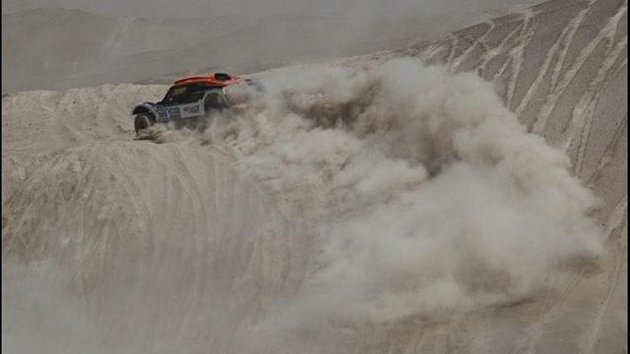 Chicherit en el Dakar 2013
