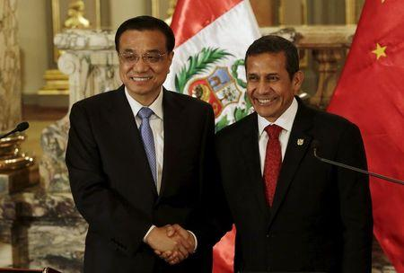 China and Peru agree to study transcontinental rail link