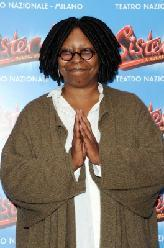 Whoopi Goldberg is all smiles at the 'Sister Act' Theatre premiere press conference at The Teatro Nazionale in Milan, Italy on October 27, 2011  -- Getty Premium