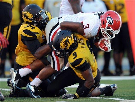 No. 7 Georgia puts away Missouri 41-20