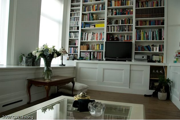 Home Library and Storage Space