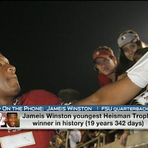 Florida State QB Jameis Winston joins 'NFL AM'