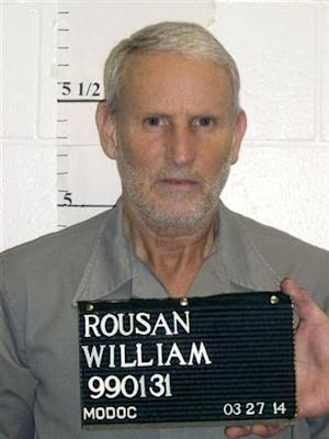 Death row inmate William Rousan seen in a photo released by the Missouri Department of Corrections