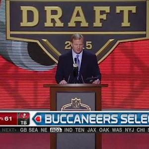 Tampa Bay Buccaneers pick tackle Ali Marpet No. 61 in the 2015 NFL Draft