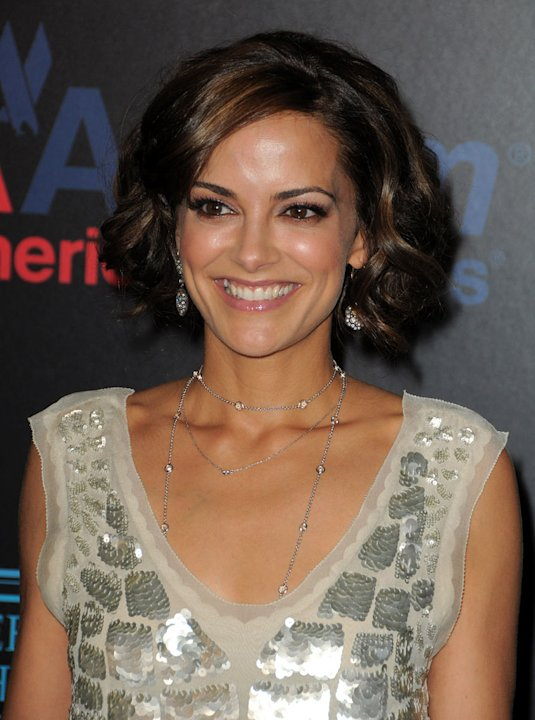 Rebecca Budig arrives at the 37th Annual Daytime Emmy Awards at Las Vegas Hilton on June 27, 2010 in Las Vegas, Nevada.