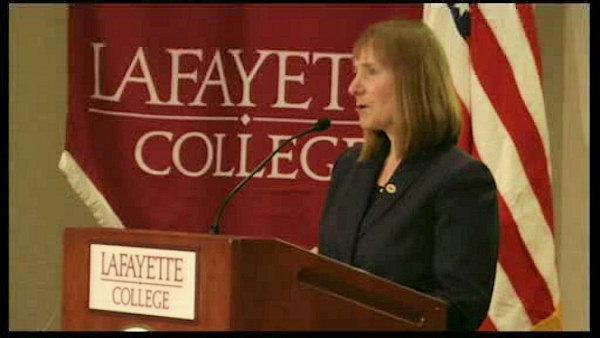 Lafayette College introduces first woman president