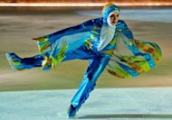 This photo, made avilable by Zayed Sports City in Abu Dhabi, shows Emirati Zahra Lari, 17, training at Zayed skates arena. The 17-year-old not only became the first figure skater from the Gulf to compete in an international competition but the first to do so wearing the hijab, an Islamic headscarf
