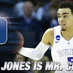 "Duke's Tyus Jones is ""Mr. Clutch"""
