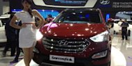 All New Hyundai Santa Fe Laris Manis di IIMS 2012