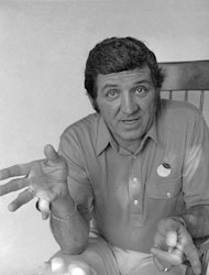 """FILE - This June 30, 1977 photo shows television actor George Lindsey posing for a picture. Lindsey, who portrayed Goober in the television series """"The Andy Griffith Show"""", has died, Sunday, May 6, 2012. He was 83. (AP Photo/JLR, file)"""