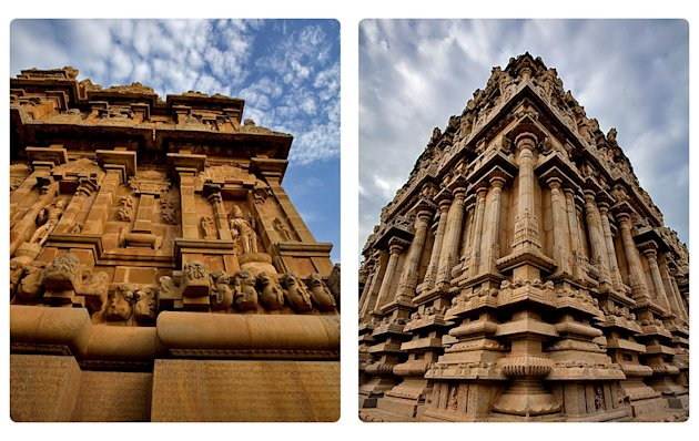 The Great Living Chola Temple at Thanjavur. Click for more photos