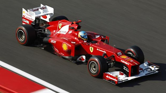 2012 Korean GP Ferrari Alonso