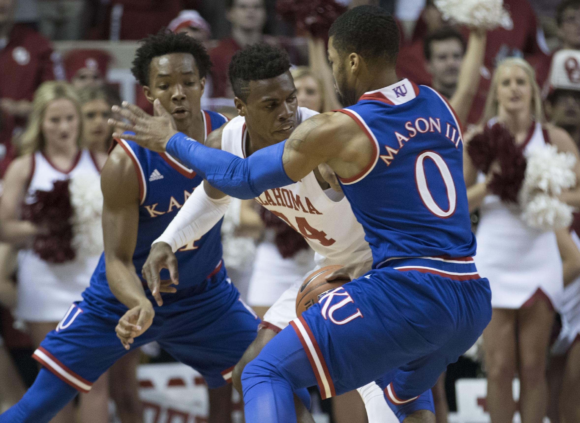 Devonte Graham leads Kansas to victory in rematch with Oklahoma