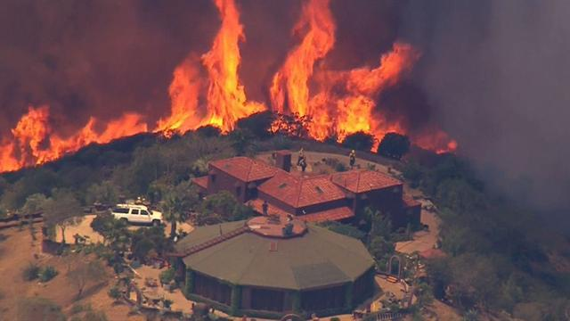California wildfire has attacked almost 44 square miles