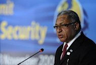 Fiji's military strongman Voreqe Bainimarama (pictured in 2009) would not be surprised if his opponents were trying to kill him, he said on Thursday after news of an assassination plot emerged in New Zealand