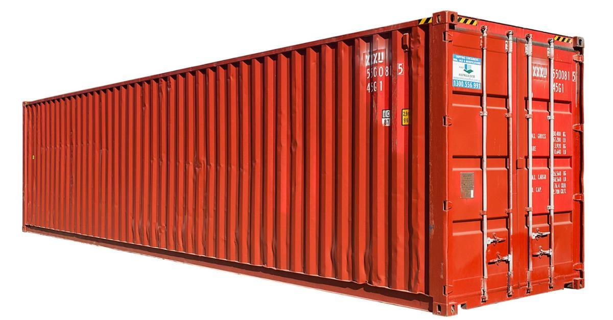 He Bought 4 Shipping Containers And Stacked Them.