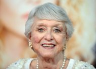 US actress Celeste Holm on September 4, 2008