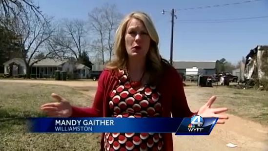 Son rescues mom from burning home