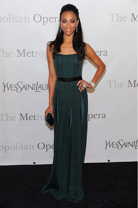 Saldana Zoe The Met Annvsry
