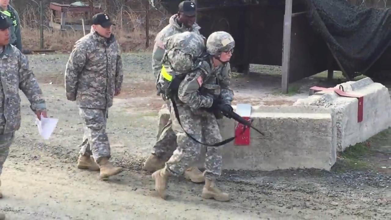 Inspiring Video Shows Army Captain Stumbling to End 12-Mile March