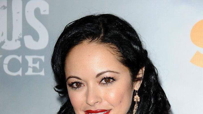 "Marisa Ramirez attends the Starz Original Series ""Spartacus: Vengeance"" Premiere Event at ArcLight Cinemas Cinerama Dome on January 18, 2012 in Hollywood, California."