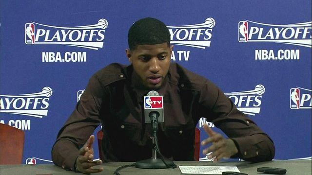 Paul George performs as Pacers lead Hawks 2-0 [AMBIENT]