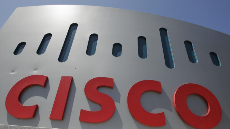 Cisco's 1Q revenue falls below estimates