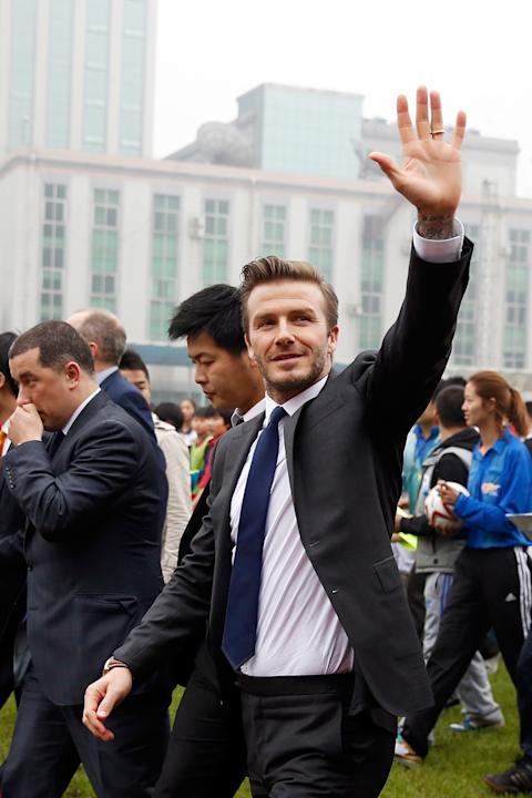 David Beckham Visits China - Day 4