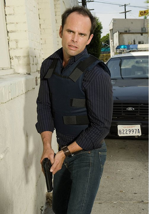 Walton Goggins stars as Detective Shane Vendrell in The Shield. 